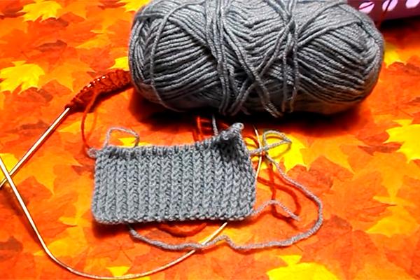 Резинка вязаного изделия больше не деформируется