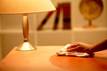 Лимонная тряпка для уборки в доме. Пыль не появляется на поверхностях в 2 раза дольше