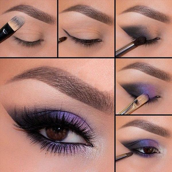 6 простых и красивых вариантов макияжа для кареглазых