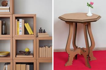 4 причины сделать мебель из картона