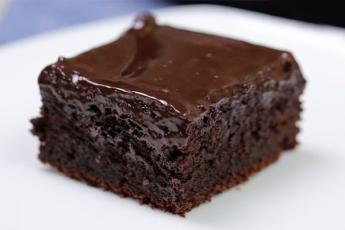 Пирог с ганашем за 10 минут. Самый шоколадный рецепт