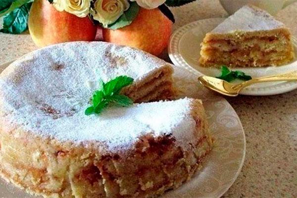 Болгарский яблочный пирог «3 стакана». Изумительно вкусный!