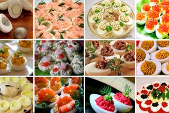 Фаршированные яйца: 26 вариантов для начинки