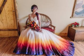 Не каждая невеста осмелится такое надеть