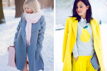 Как сочетать цвета в одежде: 35 наглядных примеров