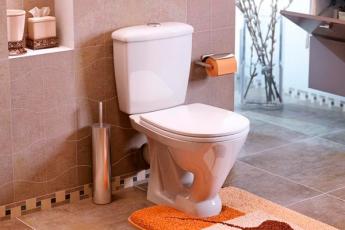Сантехнический трюк: чистим унитаз, не дотрагиваясь руками