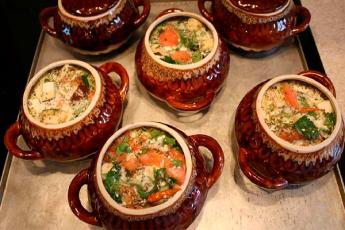 16 рецептов блюд в горшочках!