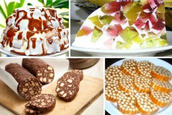 12 простых и вкусных сладостей без выпечки