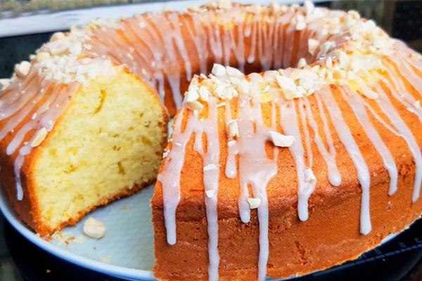 Нежный и пышный кекс: съели до последней крошки