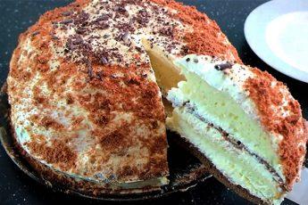 Торт «Сметанник»: классический рецепт