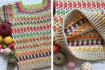 Оригинальная идея вязания