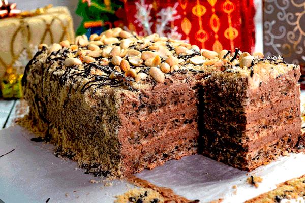 Обалденный торт без муки «Шоколадный пломбир» с насыщенным шоколадным вкусом, очень похож по вкусу на мороженое