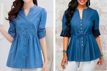 Моделирование весенних блузок