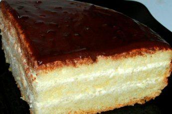 Бисквитный торт «Чародейка»: изумительный вкус, знакомый с детства