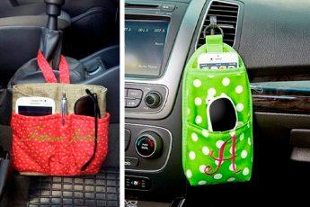 Простые и удобные органайзеры в автомобиль