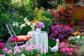 Одиннадцать советов как создать на даче райский уголок