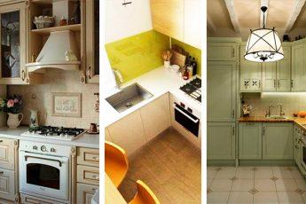 30+ стильных и небольших кухонь, оформленных грамотно и со вкусом