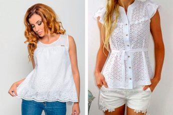 Светлые летние блузки: идеи для красоты образа