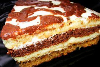 Старый и проверенный рецепт торта сметанника быстрого приготовления