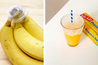Неожиданные способы использования пищевой плёнки