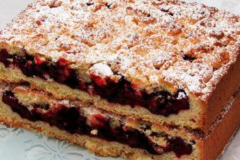 Такой вкусный пирог мои готовы есть на завтрак, обед и ужин!