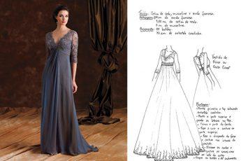 Шикарное вечернее платье – выкройка на все размеры