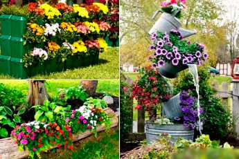 15 пестрых клумб, которые украсят сад на весь сезон