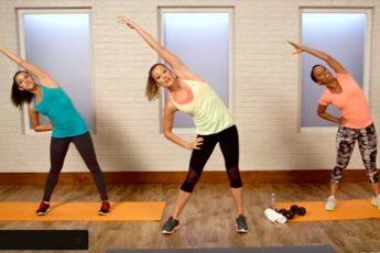 30 -минутная тренировка всего тела. Сжигаем калории!