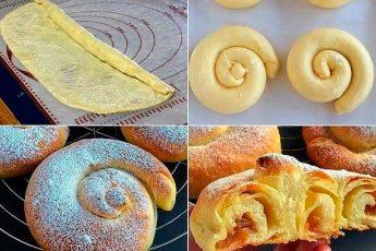 Испанские вкусные булочки