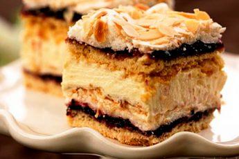 Торт «Пани Валевска»: обожаемое лакомство