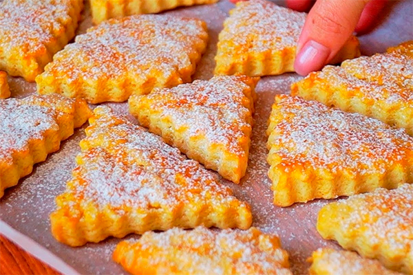 Вкуснейшее печенье на сметане за 10 минут + выпечка. Мягкое и очень вкусное