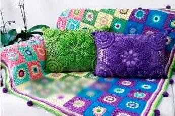 Изумительно красивый чехол на подушку