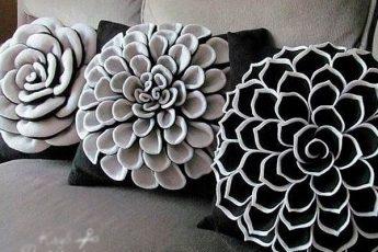 Красивые подушки: идеи и не только