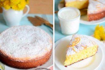 Апельсиновый манник: простейший и вкуснейший пирог