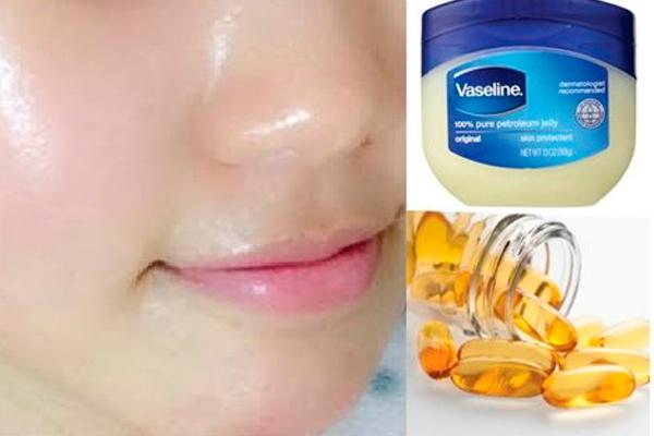 Вазелин, витамин e — ночное лечение, чтобы получить чистую безупречную кожу