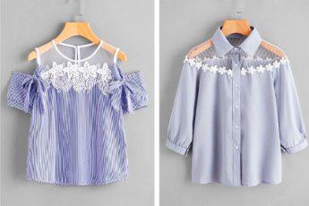 Красивые летние блузки: идеи для вдохновения