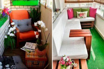 Потрясающие идеи декора летнего балкона