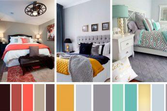 Стильная спальня без дизайнера. 12 лучших вариантов цветовой палитры