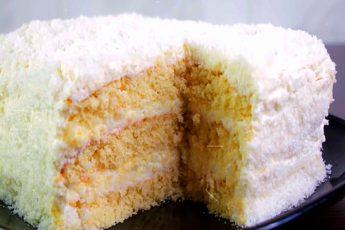 Нежный и вкусный торт Рафаелло на быструю руку