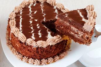 Нежный шоколадный торт: вкусно и просто