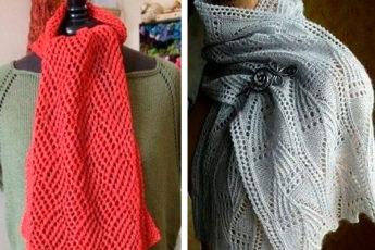 Много узоров для самых красивых шарфов