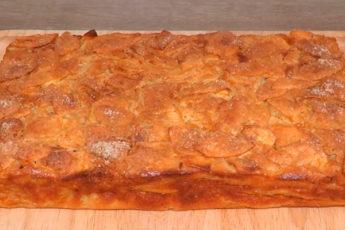Самый классный классический яблочный пирог: много яблок и мало теста