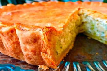 Нереально вкусный луковый пирог