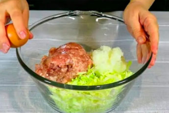 Соединяем фарш и капусту! Прекрасное блюдо хоть на обед, ужин или праздничный стол