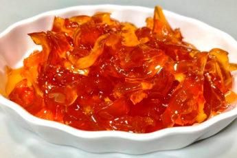 Янтарное яблочное варенье по бабушкиному рецепту «зимой не нарадуемся»!