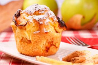 Если вы на диете — легкие и полезные яблочные кексы