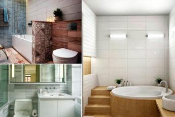 Идеи дизайна маленького санузла, которые просто воплотить в квартире