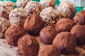 Шоколадно-кофейные трюфели: вкусные домашние конфеты