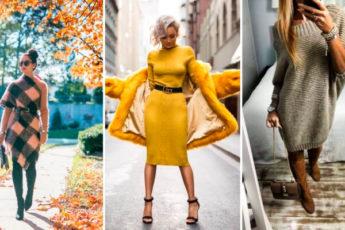 Трикотажное платье. Самая модная обновка этой зимой