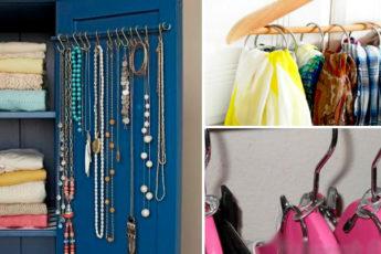 Идеи, которые помогут оптимизировать каждый сантиметр внутри шкафа